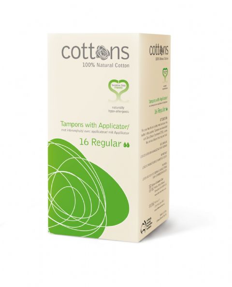 Cottons Tampons - Regular with Applicator